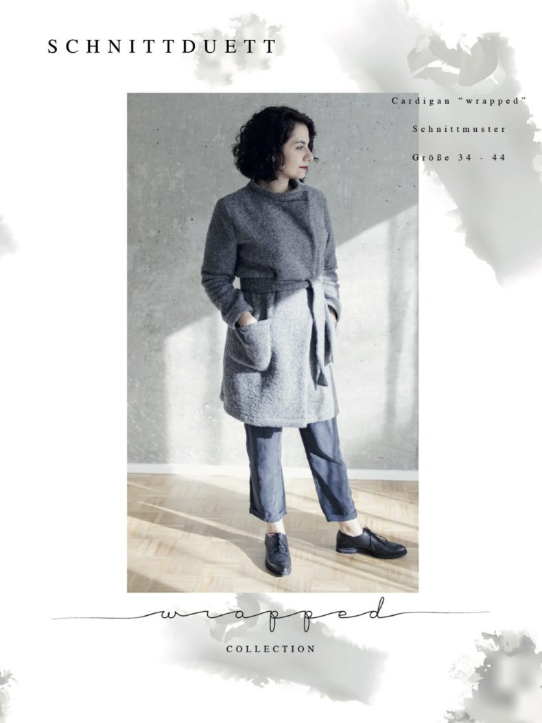 Schnittmuster Cardigan Wrapped - Schnittduett - Moderne Schnittmuster für Damen zum Selbernähen