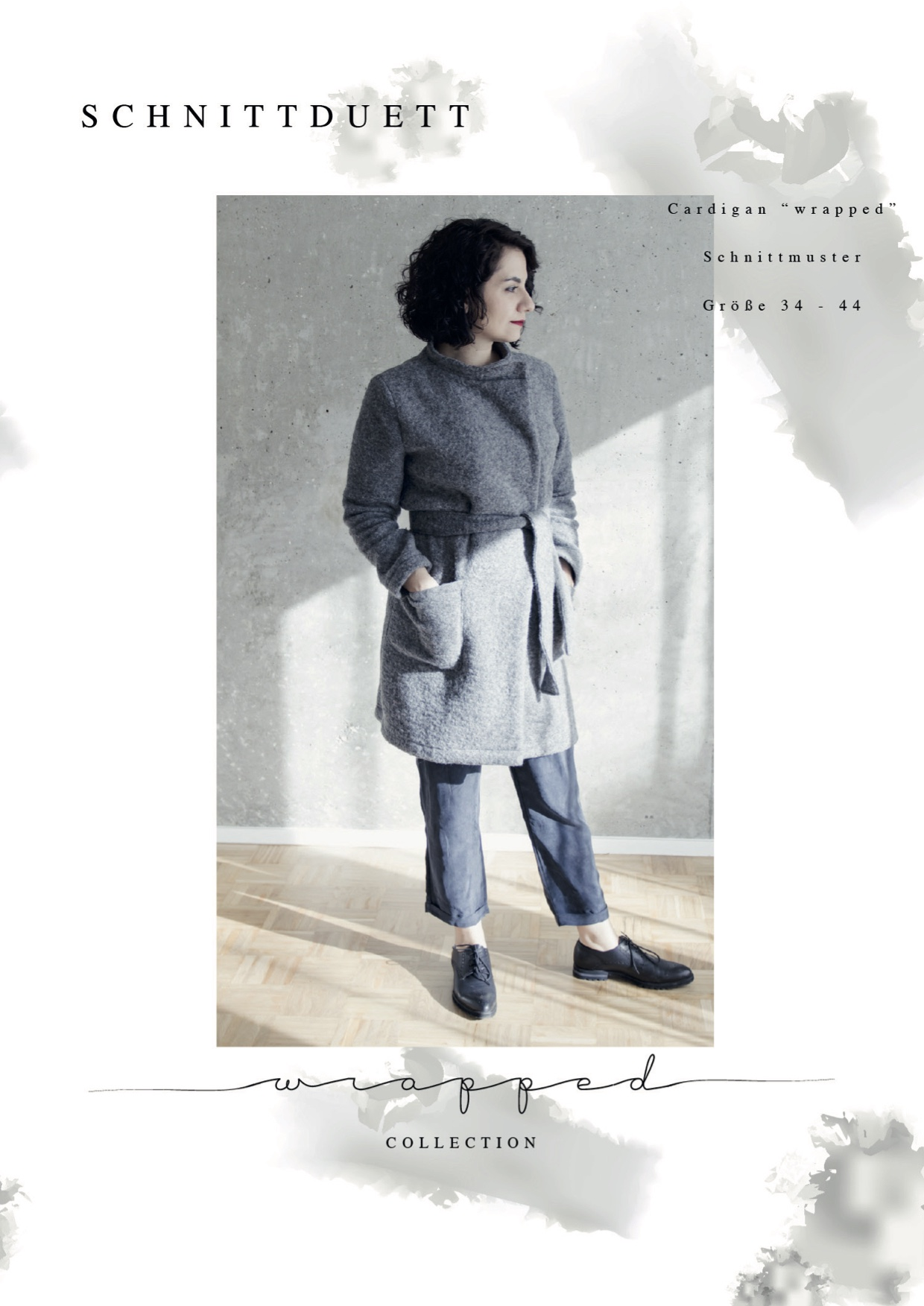 Schnittduett - Wickelcardigan Wrapped - Wir bieten moderne Schnittmuster für Damen zum selbernähen