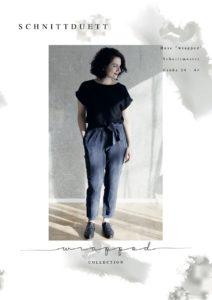 Schnittduett - Schnittmuster 7/8 Hose Wrapped - Wir bieten moderne Schnittmuster für Damen zum selbernähen