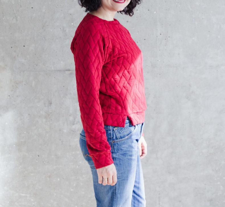 Schnittduett - Raglan Sweater Schnittmuster Wrapped - Moderne Schnittmuster für Damen zum Selbernähen
