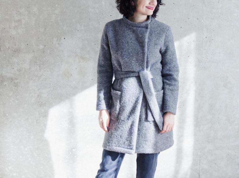Schnittduett - Wickelcardigan Schnittmuster Wrapped - Moderne Schnittmuster für Damen zum Selbernähen