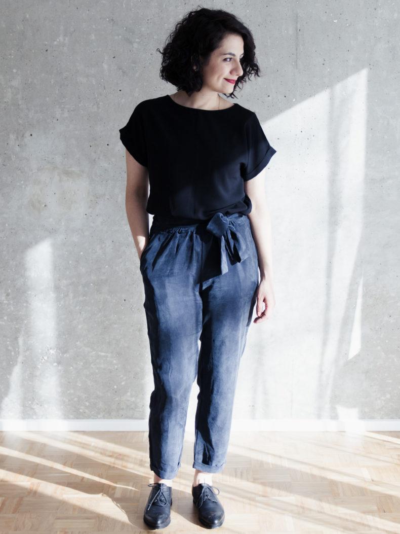 Schnittduett - Schnittmuster Hose 7/8 Länge selbernähen - Wir bieten moderne Schnittmuster für Damen