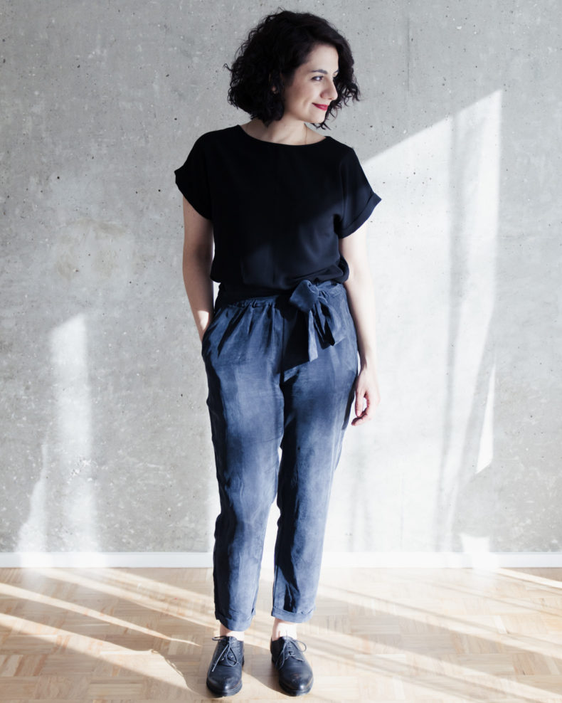 Schnittduett - Schnittmuster 7/8 Hose selbernähen - Wir bieten moderne Schnittmuster für Damen