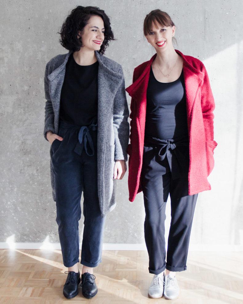 Schnittduett - Kollektion Wrapped - Wir bieten moderne Schnittmuster für Damen