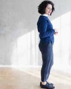 Schnittduett - 7/8 Hose Schnittmuster Wrapped - Moderne Schnittmuster für Damen zum Selbernähen