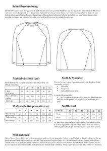 Schnittduett Raglan Sweater Wrapped - Raglan Schnittmuster - Wir bieten moderne Schnittmuster für Damen