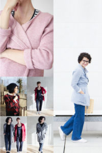 #cardiganwrapped Wickelcardigan inspirationen