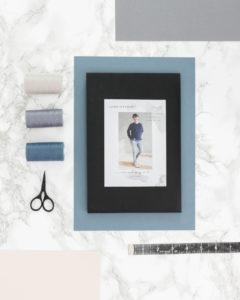 Schnittduett Schnittmuster Sweatshirt Wrapped - Raglan Sweater Schnittmuster Wrapped - Moderne Schnittmuster für Damen zum Selbernähen