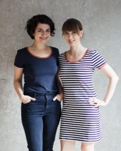 T-Shirt und Minikleid Modular Collection - Schnittduett - Moderne Schnittmuster für Frauen, die minimalistische Mode lieben