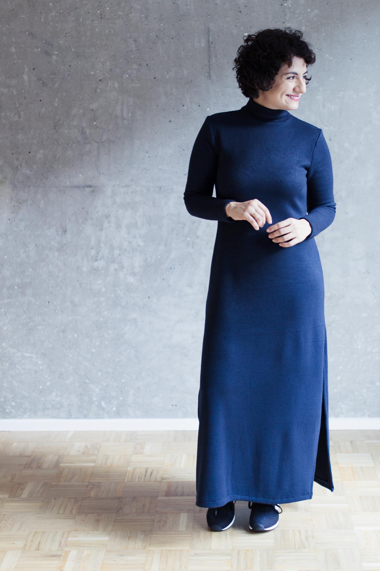 Schnittmuster Rollkragenshirt und Maxikleid Modular Collection - Schnittduett - Moderne Schnittmuster für Damen, die minimalistische Mode lieben