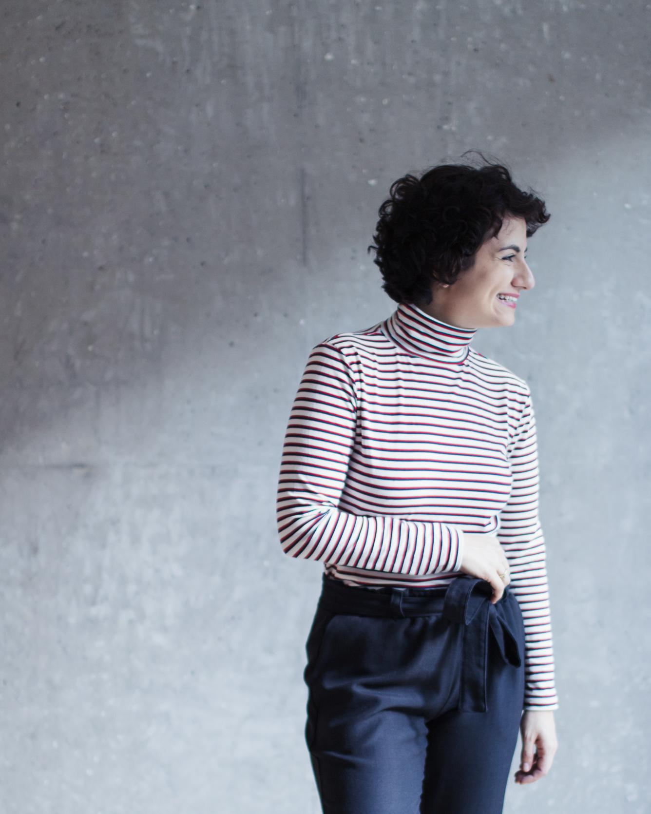 Nähanleitung und Schnittmuster Rollkragenpullover und Rollkragenpullover Modular Collection - Schnittduett - Moderne Schnittmuster für Damen, die minimalistische Mode lieben