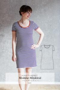Schnittmuster Minikleid Modular Collection - Schnittduett - Moderne Schnittmuster für Frauen, die minimalistische Mode lieben