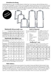 Schnittmuster Rollkragenpullover und Maxikleid Modular Collection - Schnittduett - Moderne Schnittmuster für Damen, die minimalistische Mode lieben
