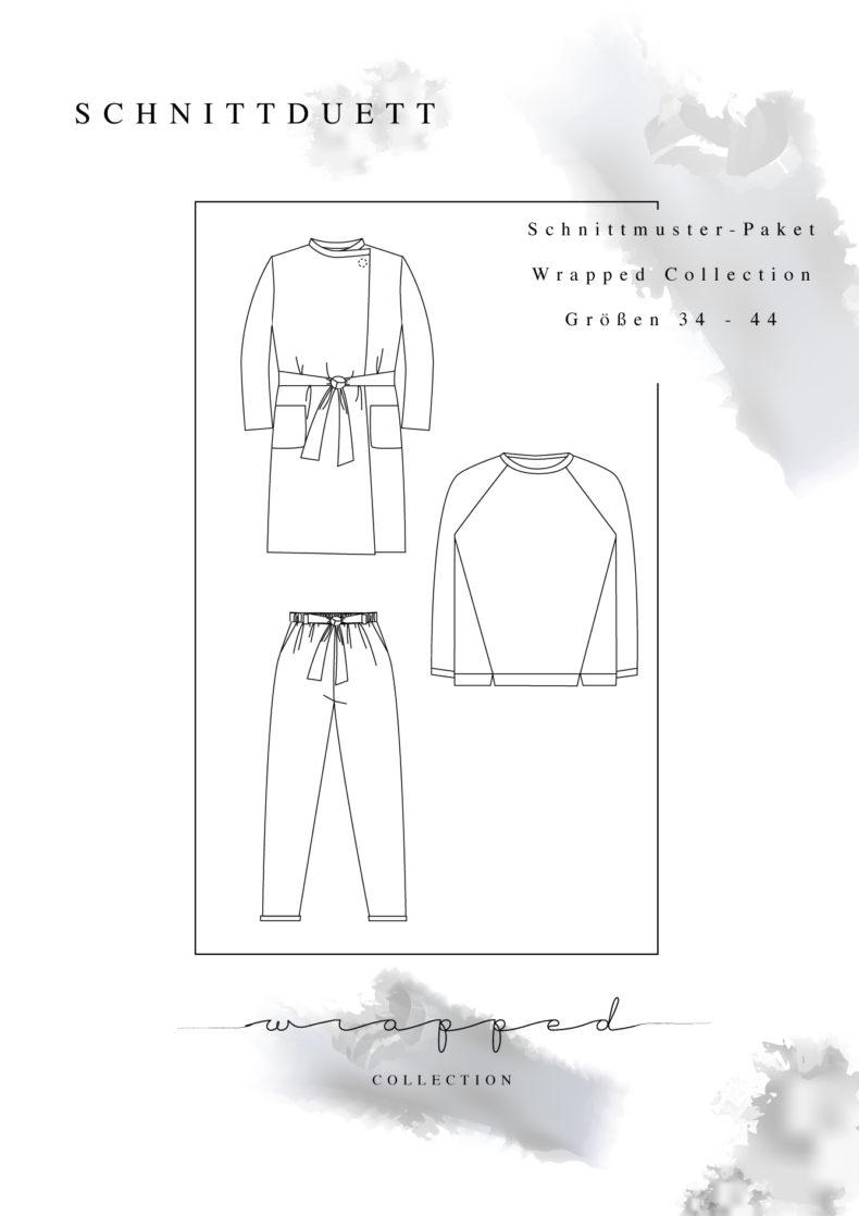 Schnittduett - Schnittmuster Kollektion Wrapped - Moderne Schnittmuster für Damen zum Selbernähen