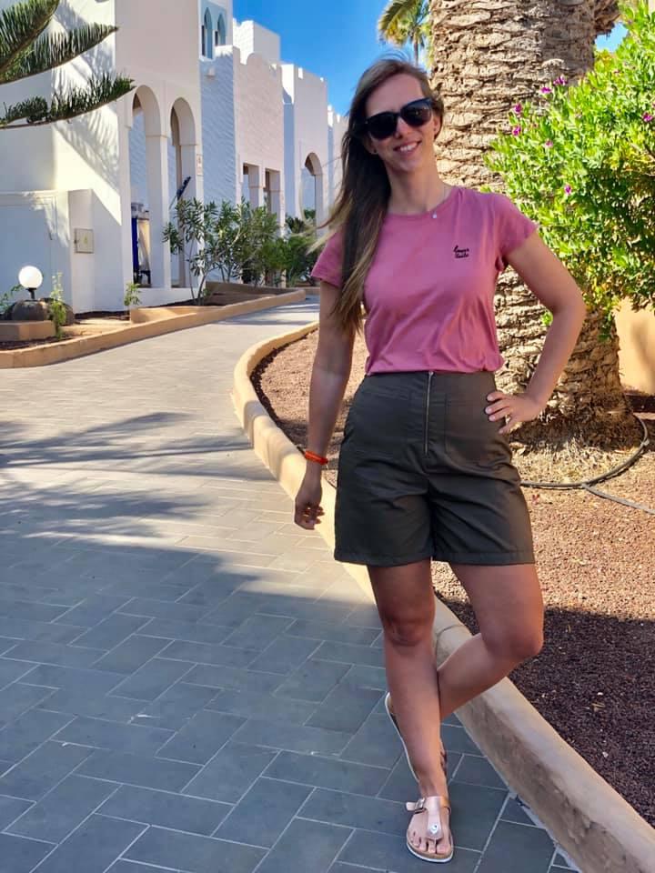 Nähideen Shorts Lola - Schnittmuster High Waist Hose und Shorts Lola mit weiten Beinen - Schnittduett - Moderne Schnittmuster für Damen