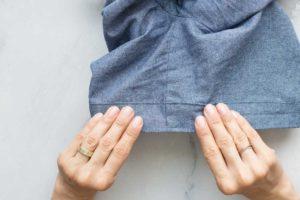 Hose Wrapped mit Hosenaufschlag nähen