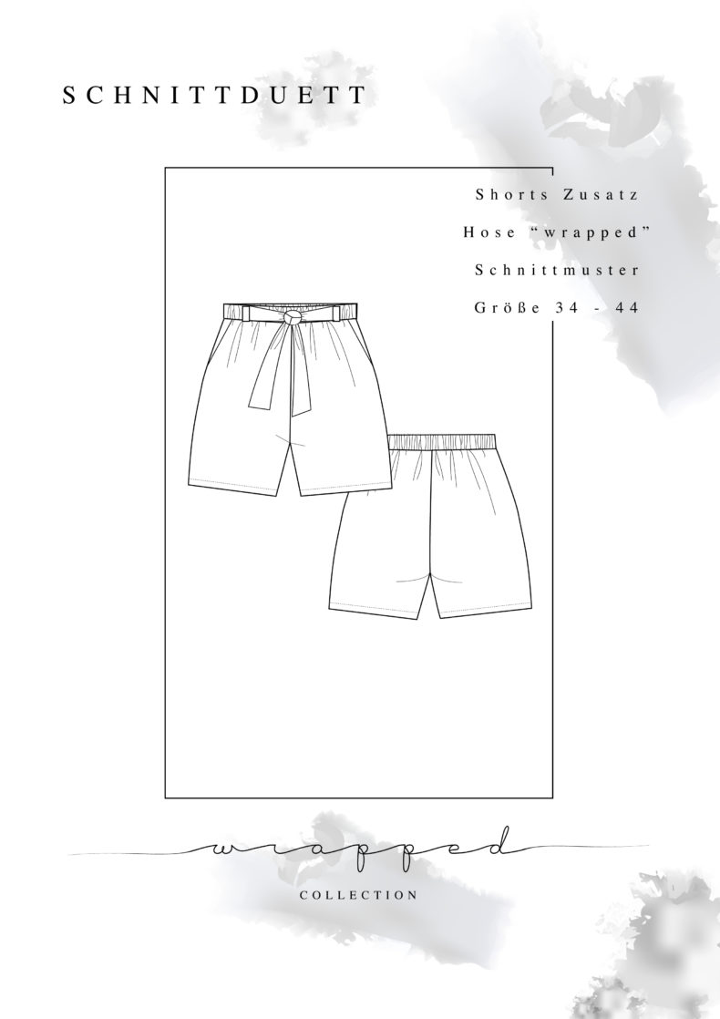 Schnittmuster Add-On Shorts Wrapped