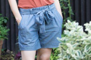 Schnittmuster Hose Wrapped Shorts - Schnittduett