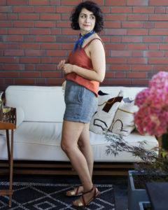 Schnittmuster Shorts Wrapped - Schnittduett