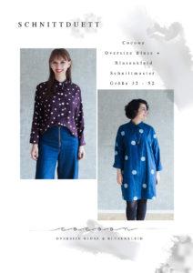 Schnittmuster Bluse und Blusenkleid Cocoon - Schnittduett