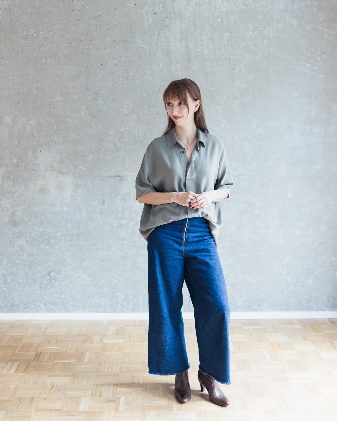 Schnittduett Schnittmuster Oversize Bluse Cocoon - Wir bieten moderne Schnittmuster für Damen
