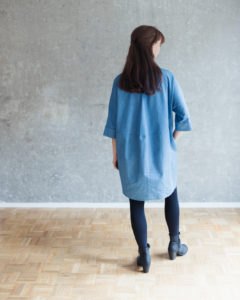 Schnittmuster Blusenkleid nähen - Schnittduett Schnittmuster Oversize Blusenkleid Cocoon Nähanleitung - Wir bieten moderne Schnittmuster für Damen