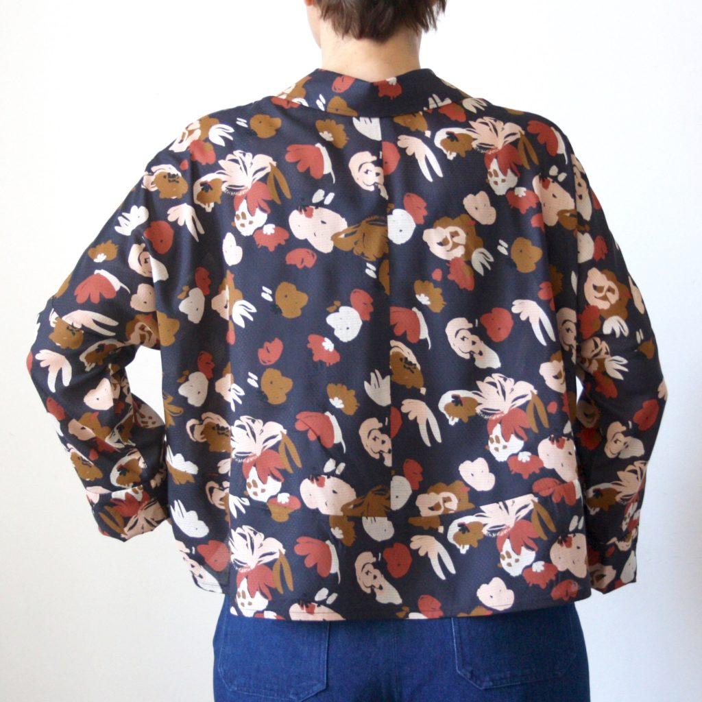 Schnittmuster Oversize Bluse Cocoon Schnittduett - Genäht von Jaqueline von ringelotte