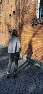 Schnittmuster Bluse nähen mit Nähanleitung - Schnittmuster Oversize Bluse Cocoon Schnittduett - Genäht von Jasmina von Jasminaing