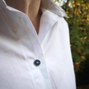 Schnittmuster Bluse nähen mit Nähanleitung - Schnittmuster Oversize Bluse Cocoon Schnittduett - Genäht von Wiebke von Mainemuhme