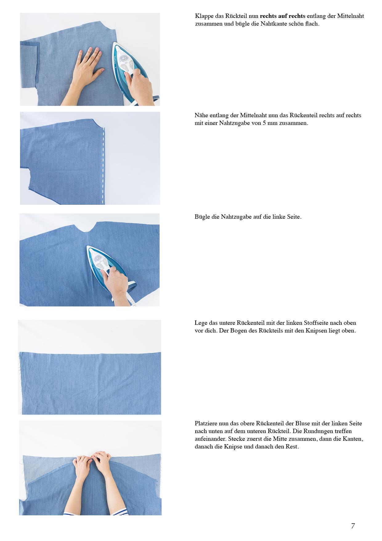Schnittduett Schnittmuster Oversize Bluse und Blusenkleid Cocoon - Wir bieten moderne Schnittmuster für Damen