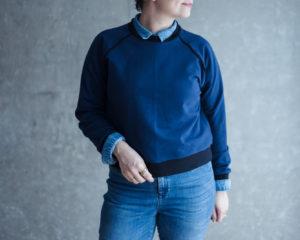 Schnittmuster Sweater Wrapped Sewalong - Schnittduett