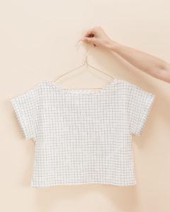 Schnittmuster Blusenshirt Bloom - lässiges Blusenshirt nähen leicht gemacht