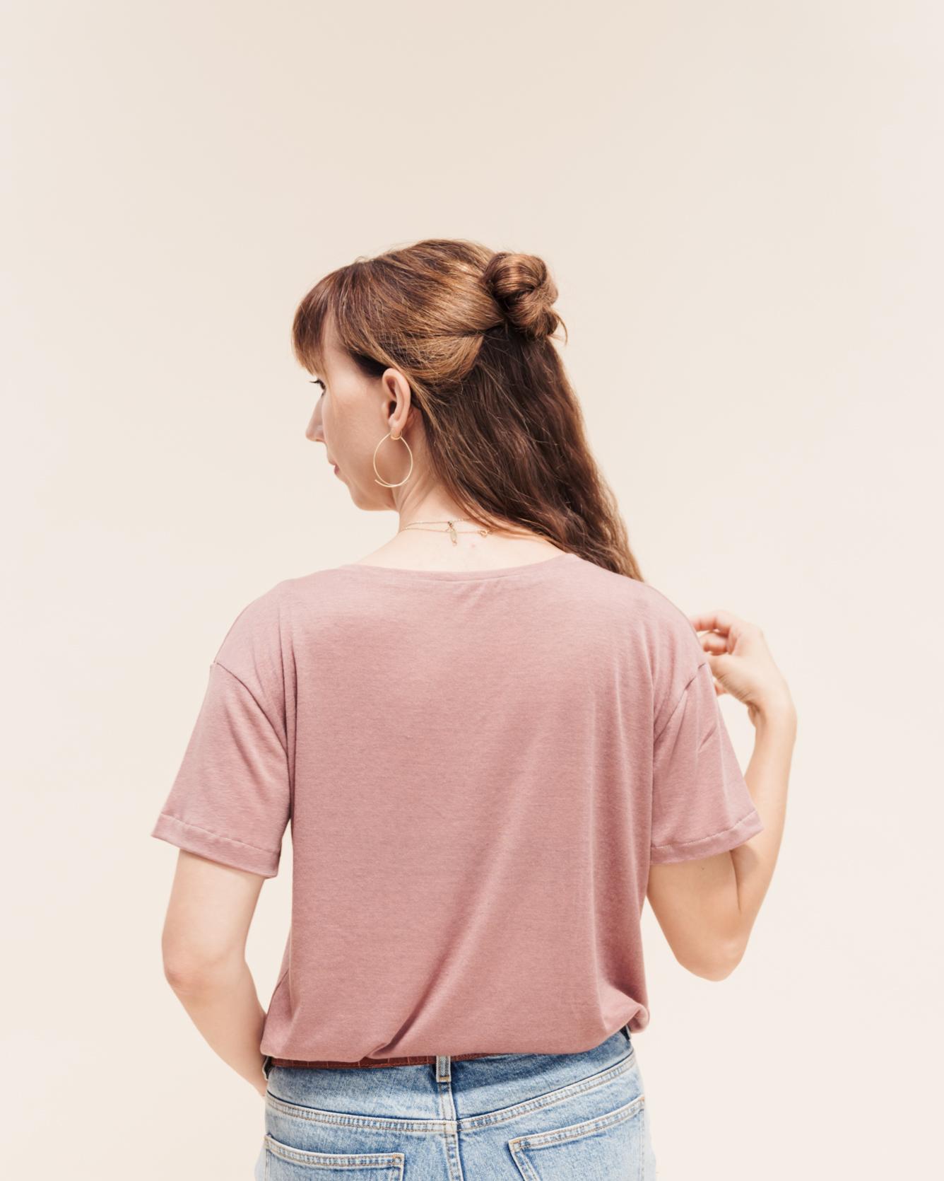 Tomboy T-Shirt Rückenansicht.