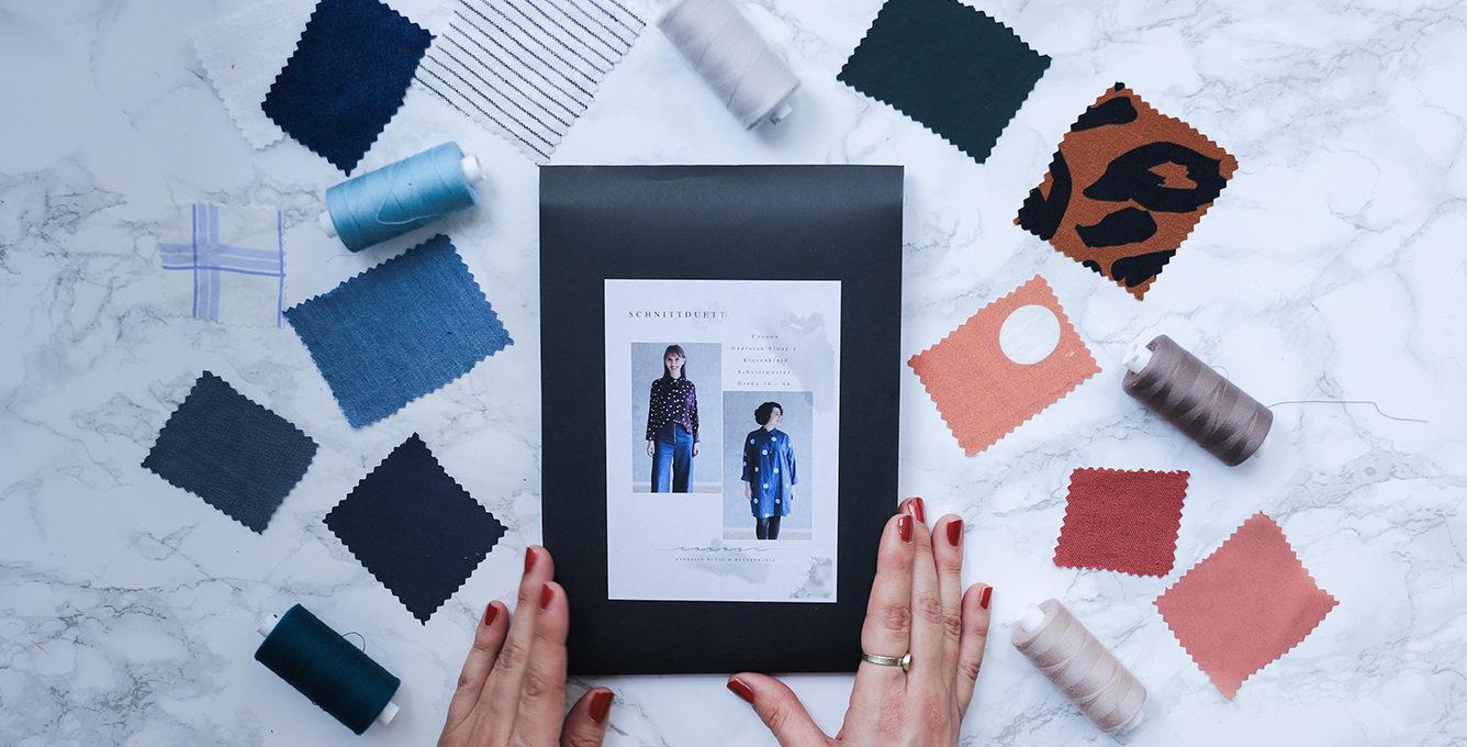 Cocoon Bluse und Blusenkleid nähen - Schnittduett Sewalong