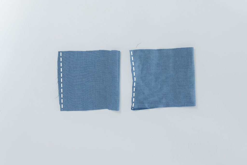 Sew Along Blusenkleid Cocoon Manschetten nähen