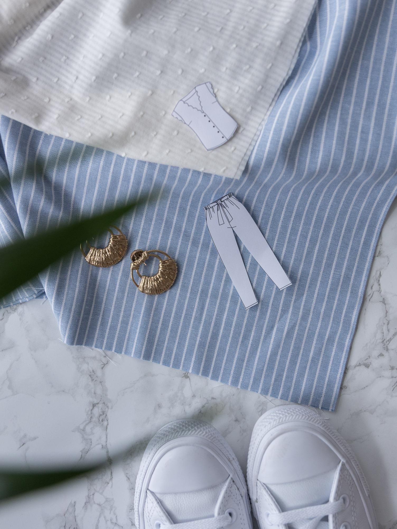 Welchen Stoff kann ich für Bluse Escapade verwenden? - Schnittduett